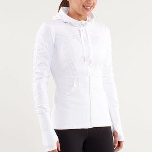 Lululemon White Dance Studio Jacket